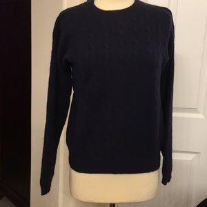 Ralph Lauren  Women Classics Navy Blue Sweater.